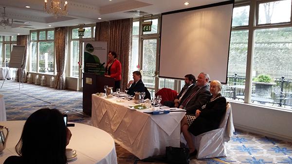 LECP launch 12.2.16 - Minister Ann Phelan